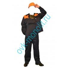 Аварийное ограждение, оранжевое 1,5x50 высотой 1,5 м