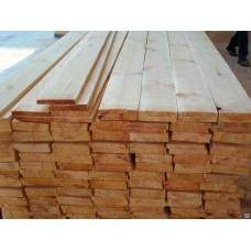 Доска обрезная 25x100x6000 (22х90х6000) осина