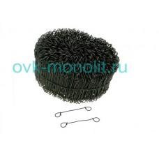 Проволока для вязки арматуры с кольцами 140х1,2 (бобина 1000 штук)