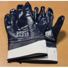 Перчатки с нитриловым покрытием (манжет - крага)