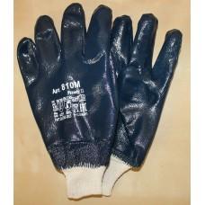 Перчатки с нитриловым покрытием (манжет - резинка)