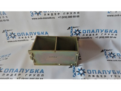 Форма куба 2фк-100 (Оцинкованная). Назначение бетонных форм