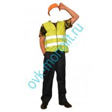 Аварийное ограждение, оранжевое 1,2x50 высотой 1,2 м