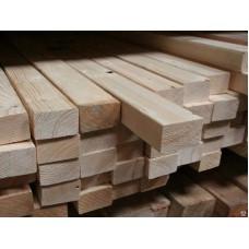 Брус деревянный 100х200х6000
