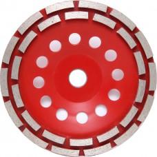 Чашка алмазная двухрядная 180 сегмент TCW155