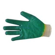 Перчатки ХБ одинарный облив