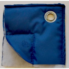 Тент строительный утепленный из ткани Oxford 420 (термомат)