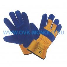 Перчатки спилковые комбинированные Йети