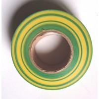 Изолента ПВХ Желто-Зелёная