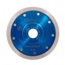 Круг алмазный (диск) для резки керамогранита 125 Hilberg ультра тонкий турбо X тип HM402